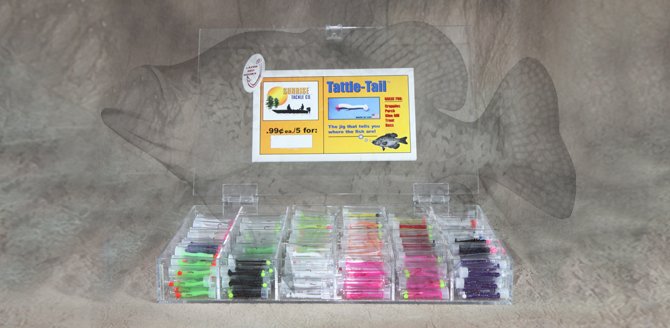 Panfish Countertop Display